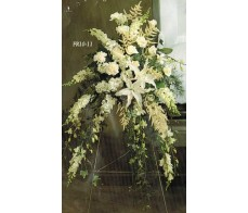 Traditional Floral Remembrance FR10-11 Standing Spray
