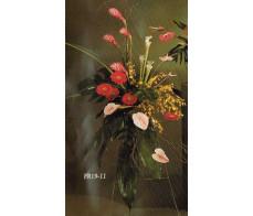 Traditional Floral Remembrance FR19-11 Casket Spray