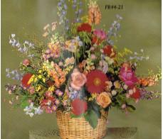 Traditional Floral Remembrance FR44-21 Arrangement