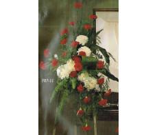 Traditional Floral Remembrance FR7-11 Casket Spray