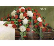 Traditional Floral Remembrance FR7-13 Casket Spray