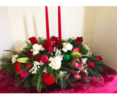 Christmas Floral Centerpiece for 2020