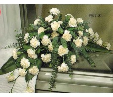 Traditional Floral Remembrance FR11-21 Casket Spray