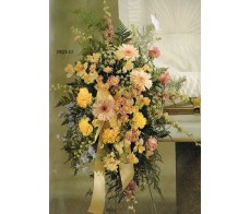 TRADITIONAL FLORAL REMEMBRANCE FR25-13 Casket Spray