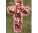 Traditional Floral Remembrance FR33-21 Cross