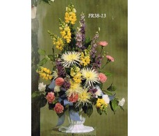 Traditional Floral Remembrance FR38-13 Arrangement