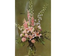 Traditional Floral Remembrance FR47-11 Arrangement