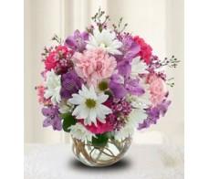 Get Well or Birthday Flower Arrangements